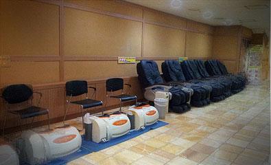 Jimjilbang Massage Chairs