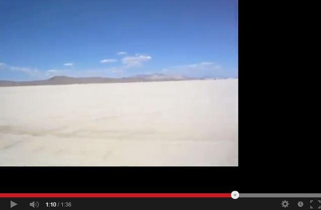 Leaving Burning Man 2011