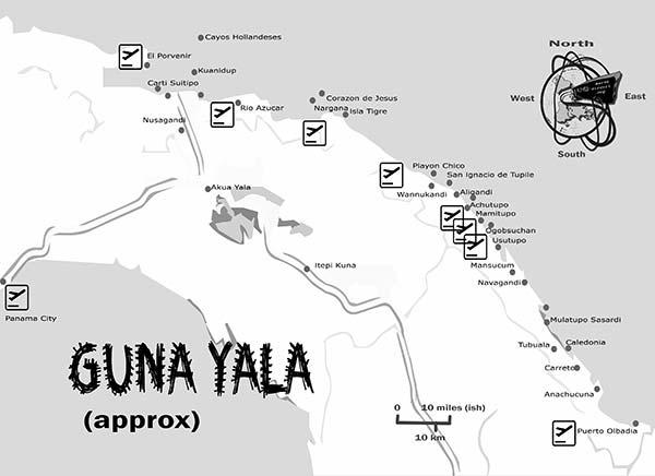 guna-yala-map