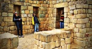 At the Temple of the Sun, Ingapirca