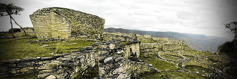 Ruins in the clouds